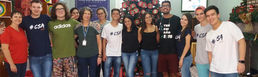 Colégio Santo Antônio realiza ação social em prol da Casa Arco Íris