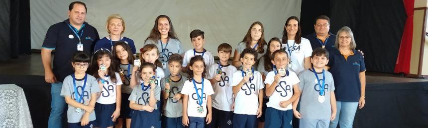 Alunos são premiados por participação na Olimpíada Brasileira de Robótica