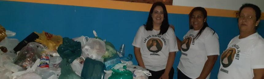 Alimentos arrecadados na Cantata de Natal foram repassados para entidades assistenciais